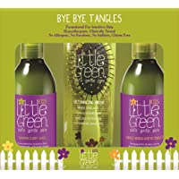 Little Green Kids Bye Bye Tangles With Brush - Kit Addio Nodi & Spazzola Districante - 669 Gr