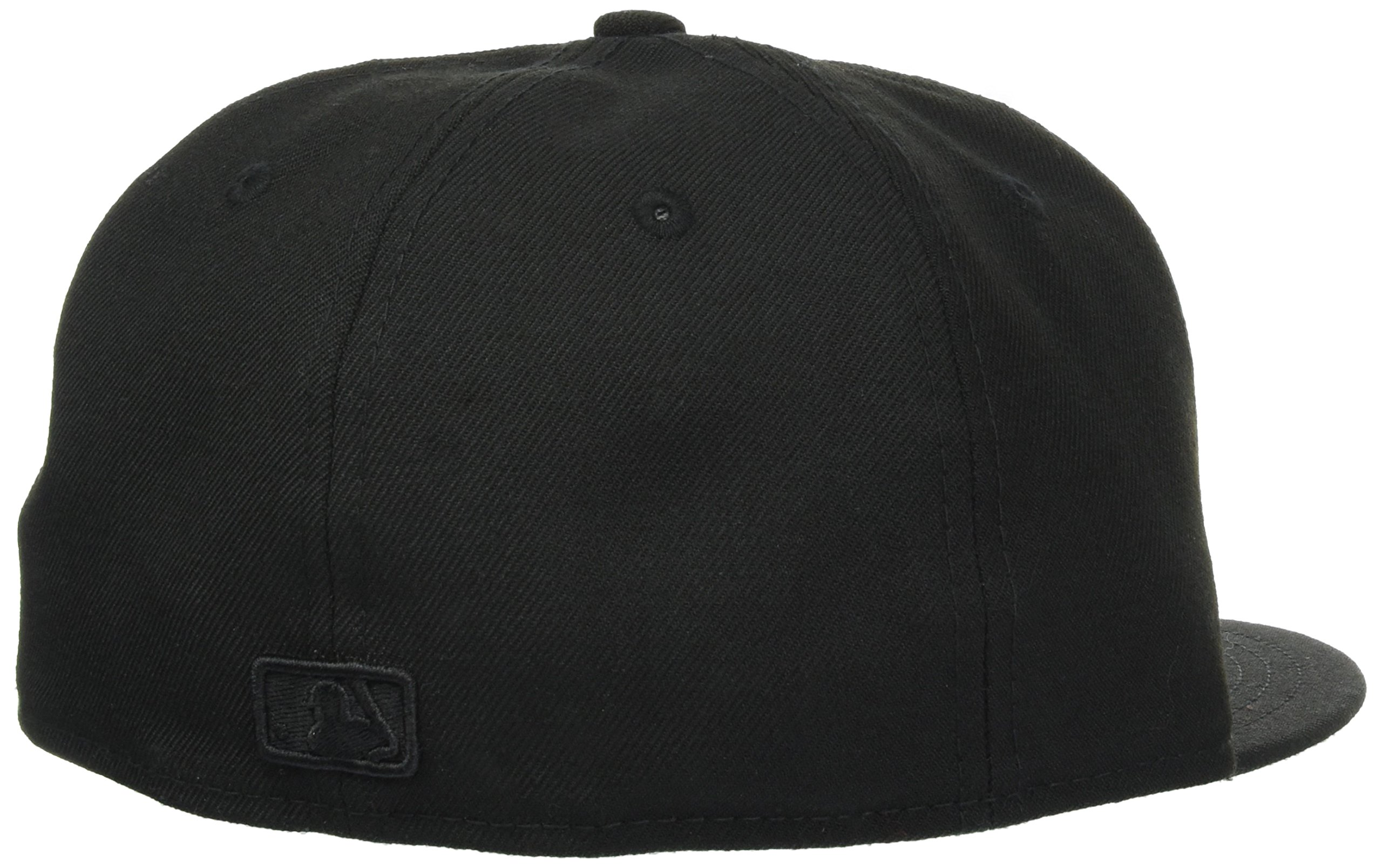 NEW ERA 59 FIFTY NY YANKEES CAPPELLO CON VISIERA COLORE NERO BLACK ... 1a1e3bf71ef1