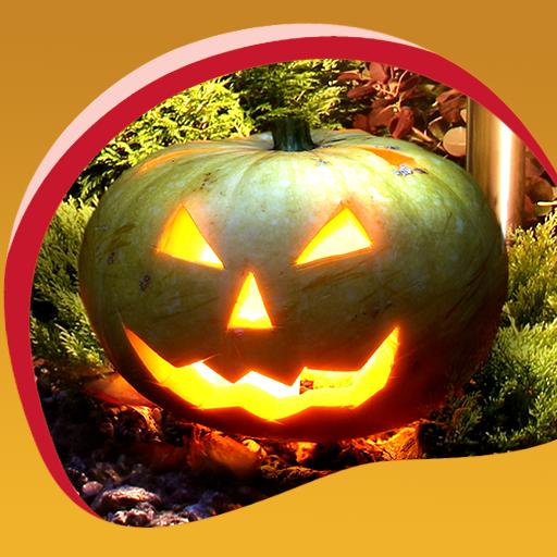 Halloween Live Hintergrundbilder (Laternen Wallpaper O Halloween-jack)