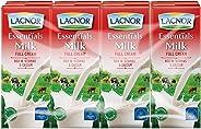 Lacnor Milk Full Cream - 180 ml x 8