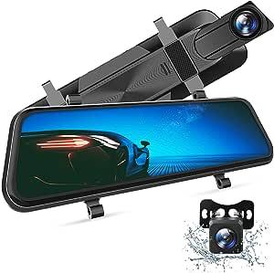 Vantop H610 Spiegel Dashcam Auto Vorne Hinten 2 5k Elektronik