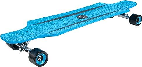 HUDORA Longboard Cruise Star, Blau/Rot/grün - ABEC 7 - Skateboard