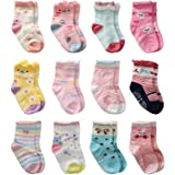 Trendy Dukaan® New Born Soft Socks Set For Baby Boys & Girls (Colors & Design May Wary)