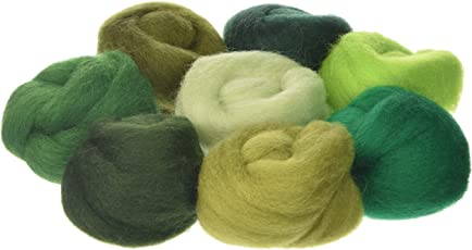 """Wistyria Editions - Wool Roving 12"""" .25 Ounce 8/Pkg"""