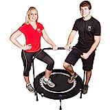MaXimus Indoor Fitness Trampoline Bounce & Burn. Indoor trampoline voor Jumping Fitness. Rebounder trampoline inclusief DVD.