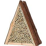 Gardigo Bienenhaus | Nisthilfe für Bienen aus Holz, zum Aufhängen | Bienenhotel, Insektenhotel aus Naturmaterialien | Deutscher Hersteller
