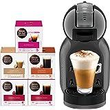 NESCAFE Dolce Gusto Mini Me Coffee Machine (with 5 Capsule Boxes), Black, Nescafe Dolce Gusto
