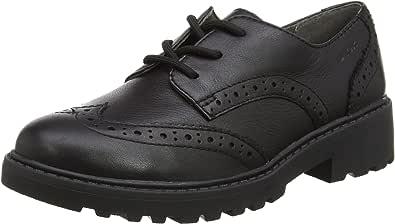 Geox J Casey Girl N, School Uniform Shoe