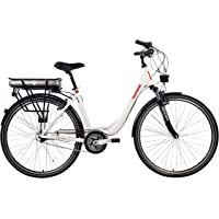 Telefunken Multitalent C750 E-bike City, weiß, 28 Zoll