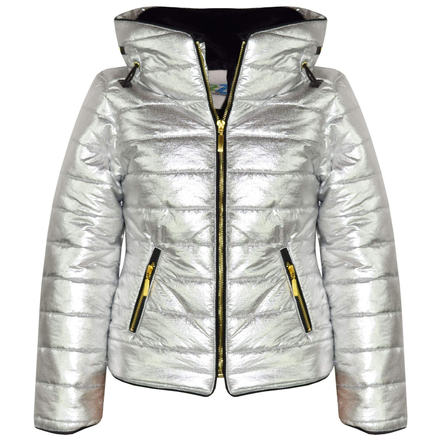 bd0da99fd11d A2Z 4 Kids® Girls Jacket Kids Stylish Padded Puffer Bubble Faux Fur ...