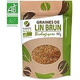Graines de Lin Brun Biologiques - 1kg (Linum usitatissimum)