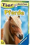 Ravensburger 20422 Kartenspiel-Pferde und Ponys Tier Quartette