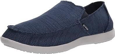 Crocs Men's Santa Cruz Downtime Slip On Loafer|Casual, Comfortable Travel Shoe, Mocassino Uomo