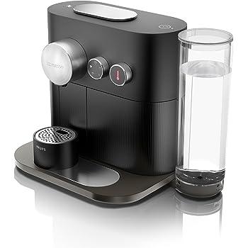 Nespresso Intenso Krups Expert & Milk XN6008 Cafetera de cápsulas de 19 bares con 4 programas de café y conectividad con la app de Nesspreso, color negro