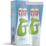 Punch & Judy - Simply Strawberry, Strawberry Toothpaste for Milk Teeth, Fluoride 1,000 ppm, 0-2 Years