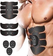 FitForward EMS-Trainingsgerät für mühelosen und effektiven Muskelaufbau - Mit unserem Muskelstimulator zum Perfekten 8-Pack - Premium Bauchmuskeltrainer