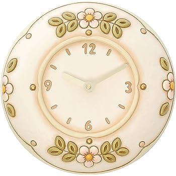 Thun fiori orologio da parete ceramica variopinto for Thun orologio da parete