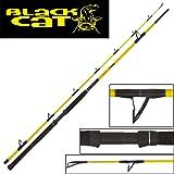 Black Cat Freestyle Rute 2,80m 400g Wallerrute, Welsrute, Angelrute zum Welsangeln, Ruten zum Wallerangeln, Angelruten zum Abspannen auf Waller, Wels
