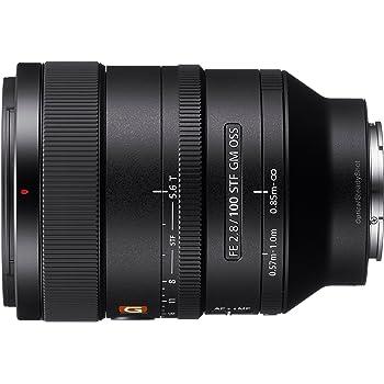Sony SEL100F28GM E Mount Full Frame 100 mm F2.8 G Master Prime Lens - Black