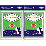 [ 8PCS ] Korean Asian Exfoliating Washcloth Italy Towel - Scrubbing Cloth for Removing Dead Skin Callus, Cleaning Pores…