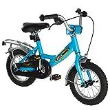 Ultrasport Kinderfahrrad 12 ½ Zoll, hellblaues Fahrrad für Jungen ab 3 Jahre (