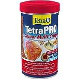 Tetra Pro Colour Multi-Crisps 500 ml - Alimento completo con un valor nutritivo óptimo, concentrado de color adicional realza