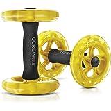 SKLZ Core Wheels Dynamic Strength & Ab Trainer, Gul