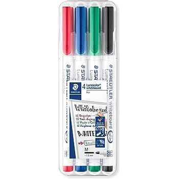 4 Whiteboardmarker farbsortiert Faber-Castell Grip 1583 Rundspitze 1-2mm