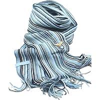 Sciarpa S.S. Lazio, Prodotto Ufficiale, Elegante Adatto ad Ogni Occasione, per Uomo o Donna o Ragazzo, Dimensione 192…