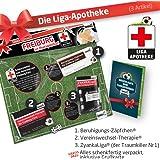 Geschenk-Set: Die Liga-Apotheke für SC Freiburg-Fans | 3X süße Schmerzmittel für SC Freiburg Sportclub Fans Fanartikel der Liga, Besser ALS Trikot, Home Away, Fan-Schal & Kennzeichenhalte
