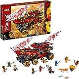 LEGO Ninjago BountydiTerra, Action Set con la Regina-Serpente, Playset Maestri dello Spinjitzu, 70677