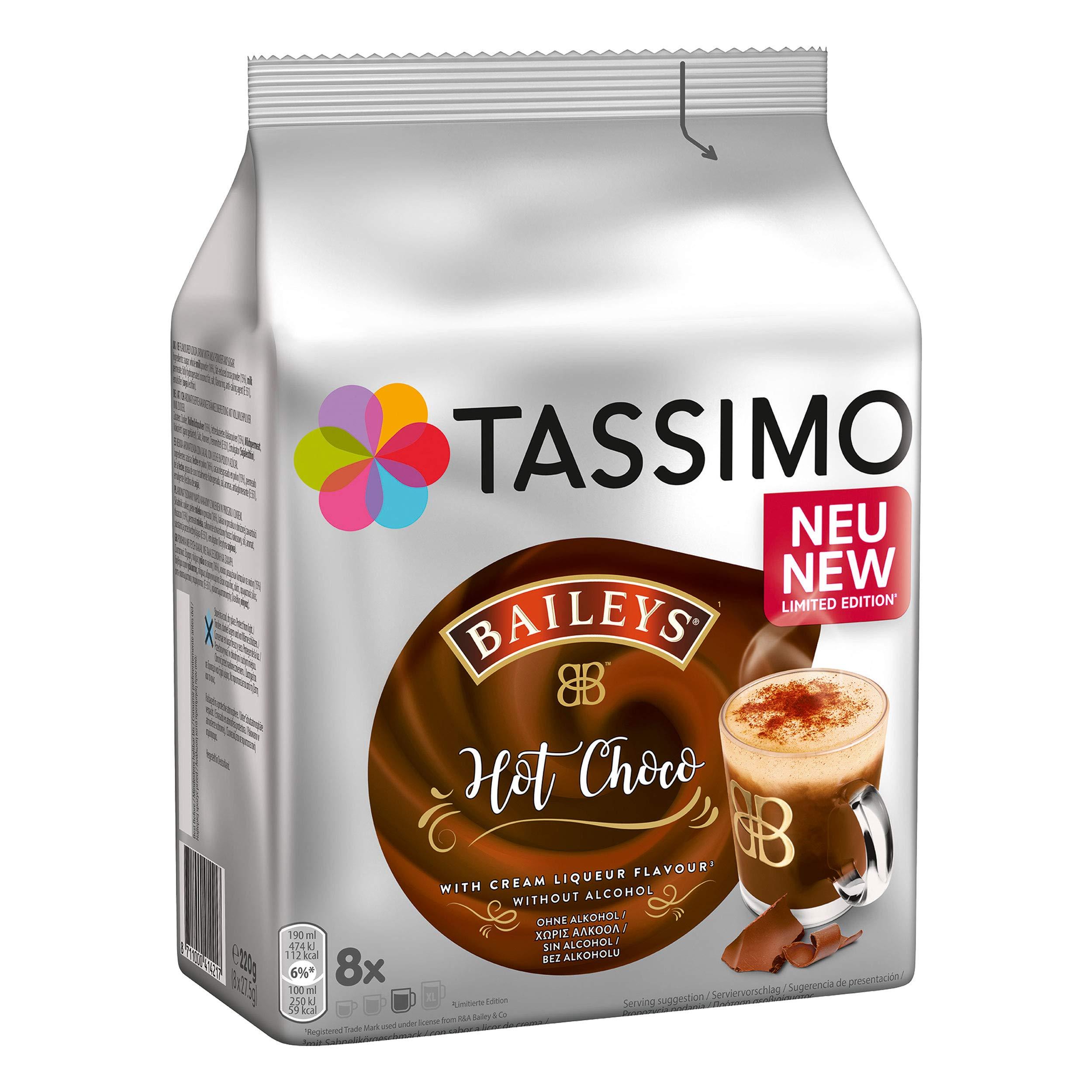 Tassimo Baileys Hot Choco Hot Choco Cocoa Chocolate Drink
