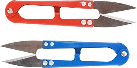 AM Metal Goelx Craft cutters for Multi-use Cutting Works (Red, 7.5x7.5x4cm)
