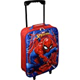 "Marvel Spider-Man 15"" Collapsible Wheeled Pilot Case - Small Rolling Luggage …"