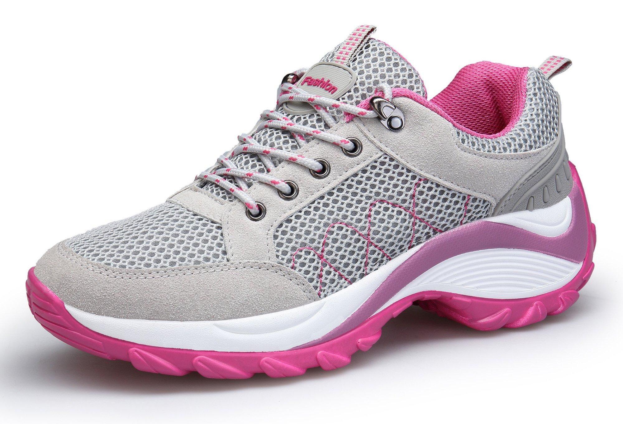 2ee9c8997f22f8 KOUDYEN Scarpe da Ginnastica Donna Sportive Scarpe da Corsa Running  Palestra Sneakers