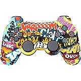 TPFOON Wireless PS3 Controller, Dual Vibration Sixaxis Gamepad Joystick für Sony PS3 PlayStation 3