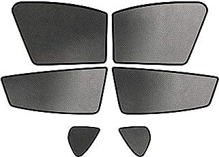 RUIYA Autofenster Sonnenschirm Angepasst für 2017 2018 MazdaCX-5,Premium Auto Sun Shade für vollen UV-Schutz (6 Stücke)