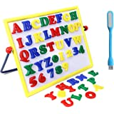 BKDT Marketing Alpha Numeric 2in1 Magnetic Learning Board with USB LED Light