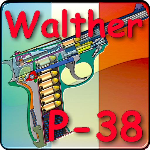 Le pistolet allemand Walther P38 expliqué: Amazon co uk