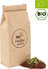 Bio Matcha Kaffee   aus Arabica Kaffee gemahlen mit Matcha Tee   Original Green Tea aus Japan   Superfood für Bestleistungen   Premium Qualität   Vegan   gemahlen   250GR