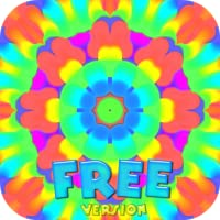 Kaleidoscope Painter Tablet - Free Edition : Colorful Fun App to Draw Mandala and Symmetric Art