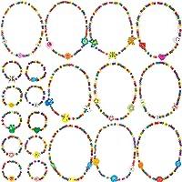 MOOKLIN ROAM 20 Stück Kinder Halsketten Kleine Prinzessin Armbänder Regenbogen Freundschaftsarmbänder Bunt Kinderschmuck…