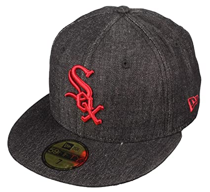 59eaef30b2c closeout comparison of yankee hats 145fc 946a6  coupon code for aposchicago  white sox 59fifty fitted cap by new era denim fit black 3de5c