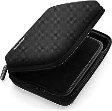 deleyCON Navi Tasche / Navi Case / Tasche für Navigationsgeräte - 6 Zoll & 6,2 Zoll (17x12x4,5cm) - Robust & Stoßsicher - 1 Innenfach - Schwarz