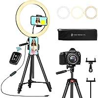 Ringleuchte 12 Zoll/30.5 Zentimeter, TaoTronics Selfie Ringlicht mit 3 Farbmodi, Einstellbare…