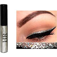 Hr Metallic Glitter Shinning Shimmer Eyeliner Waterproof Gold Blue Green Pink (Silver)