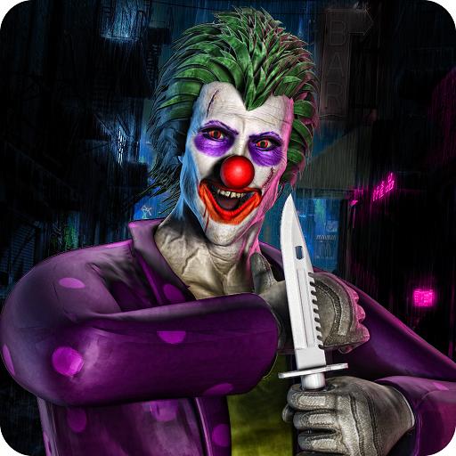 berlebens-Simulator 3D: Fünf Nächte im gruseligen Clown Attack Horror House Abenteuer Spiele Kostenlos für Kinder 2018 ()
