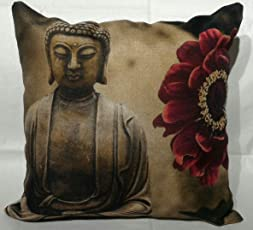 RpX Designer Jute Cushion Covers- Pack of 5