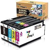 7Magic 950XL 951XL,Cartouche d'encre Compatible HP 950XL 951XL avec la dernière puce pour HP OfficeJet Pro 8600 Plus 8610 862