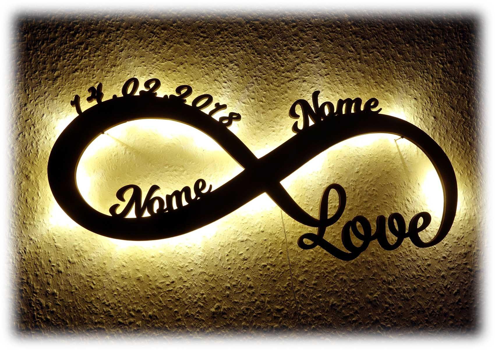 Anniversario Di Matrimonio Regali Per Lui.Luce Regali Di Nozze Amore Infinito Regalo Anniversario Matrimonio